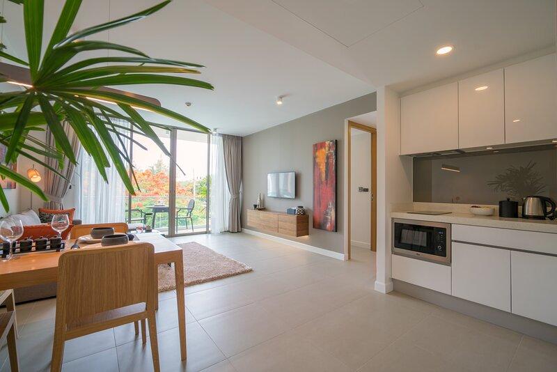 2 Bedroom Deluxe apartment in popular Laguna – semesterbostad i Bang Tao Beach