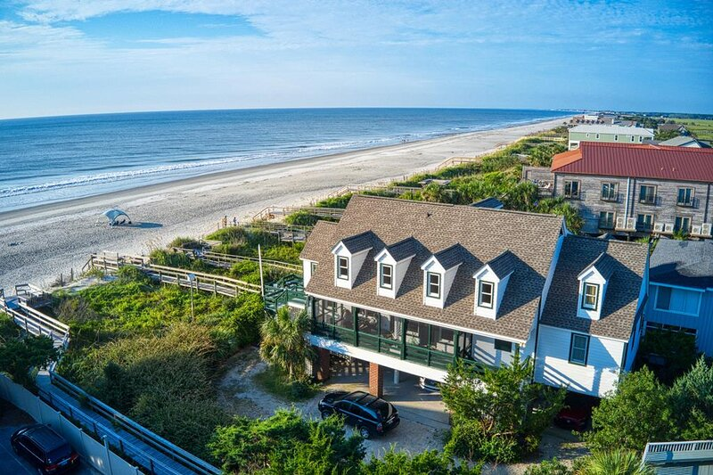 Oceanfront Beach House, Panoramic View, Screen Porch, Dog Friendly, Creek Nearby, alquiler de vacaciones en Pawleys Island