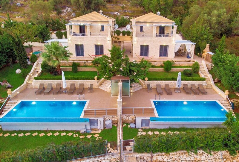 Ionian Diamond Villas - White, vacation rental in Fterno
