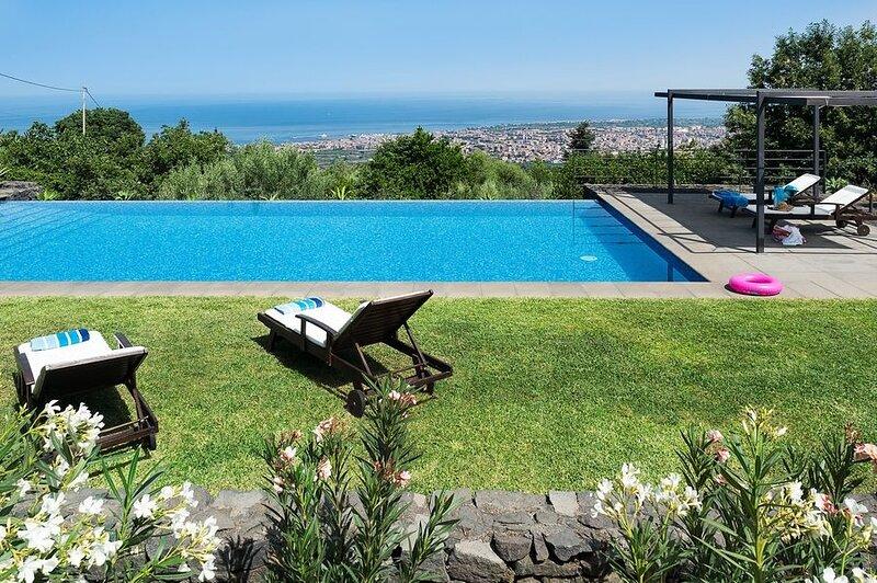 Villa Edera, vacation rental in Giarre