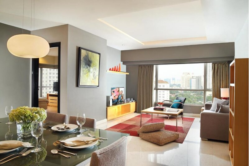 Three Bedroom Executive Apartment, Somerset Berlian Jakarta, holiday rental in Tangerang