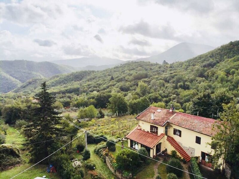 GLAMOROUS SIGNATURE LOOK WITH A RUSTIC CHIC STYLE-POLCANTO/MUGELLO, holiday rental in Bivigliano