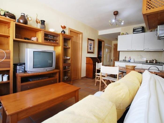 Apartment in arttyco building, alquiler de vacaciones en Pradollano