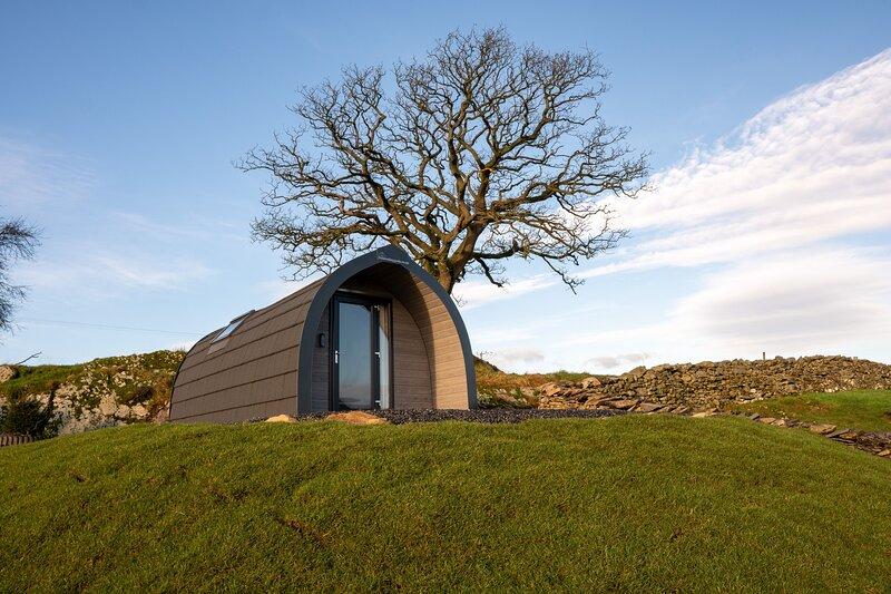 Herdsman Hut - Lakeland Glamping at its best - Modern pod with underfloor heatin, vacation rental in Bowland Bridge