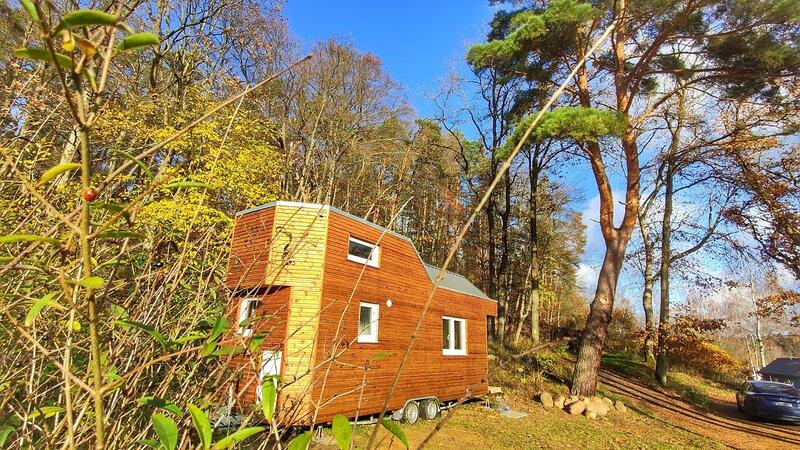 Ferien im Tiny House, casa vacanza a Luebz