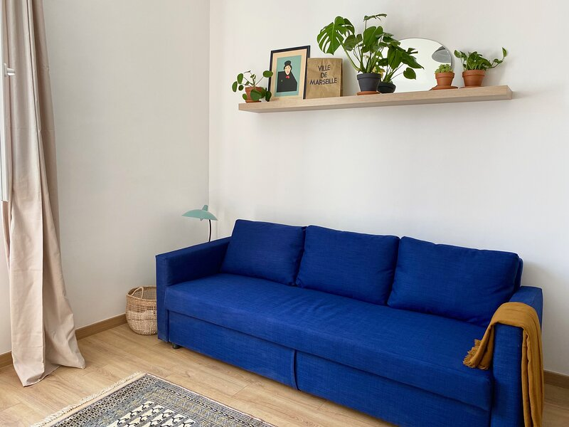 Chez Léo : Charme et Confort à 10 min du Vieux Port, location de vacances à Marseille