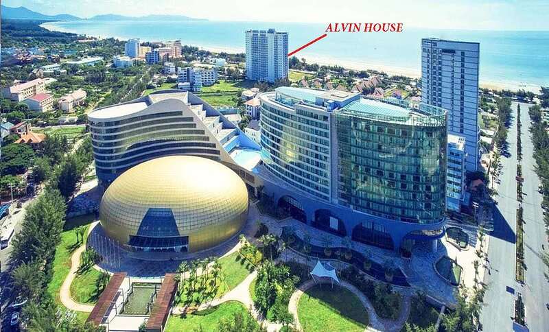 Ocean view, 1 min to Beach - Alvin House Vung Tau, Ferienwohnung in Vung Tau