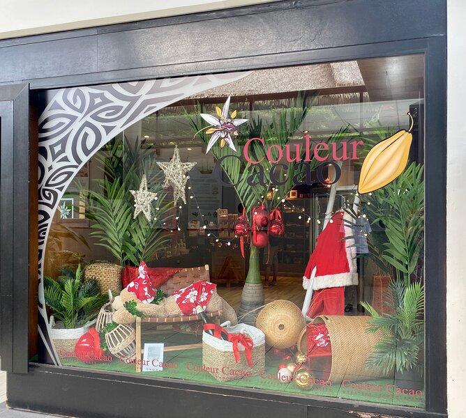 Les boutiques dans l'hôtel : Couleur-Cacao, l'excellent pâtissier-chocolatier polynésien