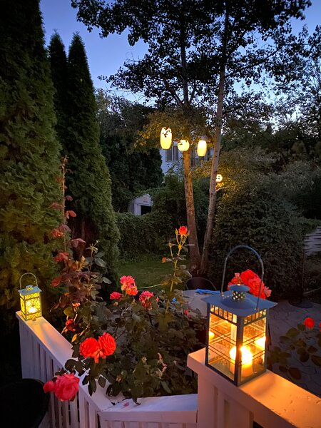 Patio at Dusk