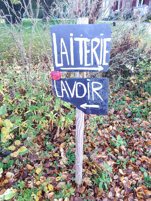 La Laiterie is on your right