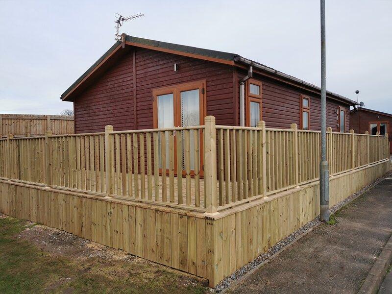 Beautiful 2-Bed Cabin in Bridlington, alquiler vacacional en Harpham