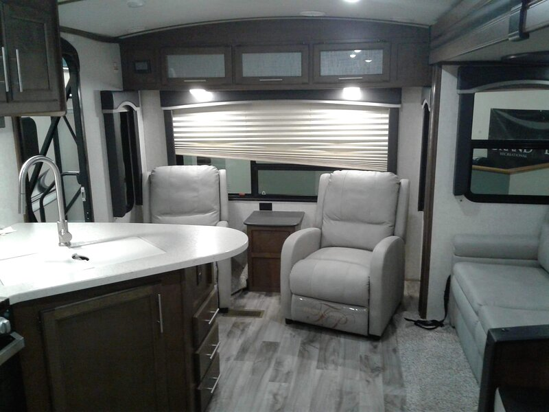 A luxury camper loaded, holiday rental in Lawrenceburg