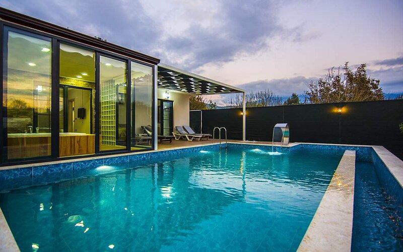 Privet Hidden Pool Holiday Villa Sefa – semesterbostad i Kayakoy