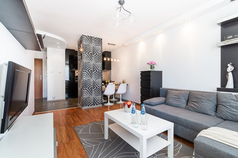 Apartment SAFARI with air conditioning in top location, casa vacanza a Piastow