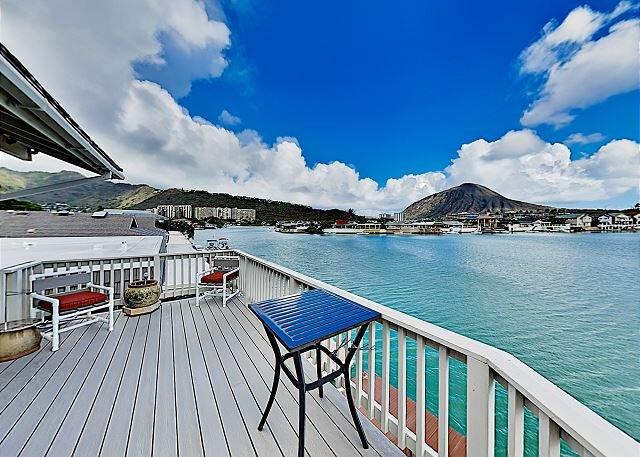 Waterfront Kuapa Isle Gem | Koko Crater Views & Pool | By the Beach, holiday rental in Hawaii Kai