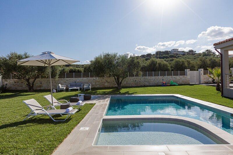 Merastri Villa with a sensory driven design private pool.
