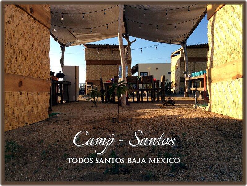 Camp - Santos Cabanas, aluguéis de temporada em Todos Santos