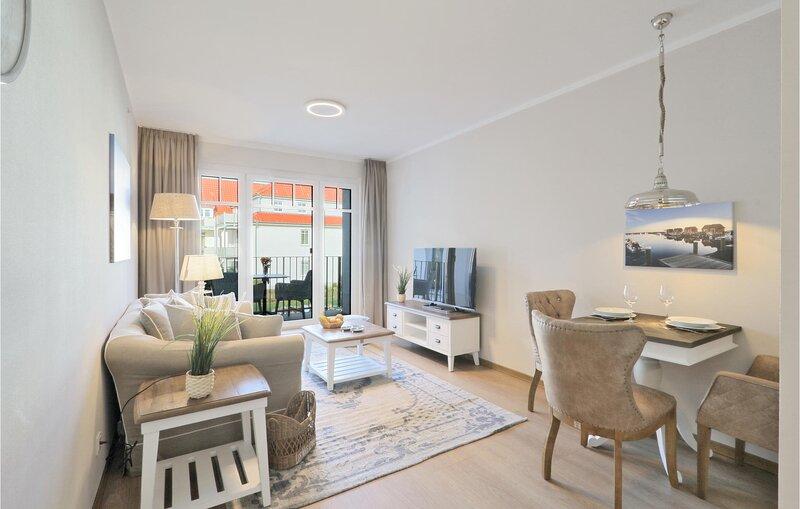 Nice apartment in Ostseebad Boltenhagen with Sauna, WiFi and 1 Bedrooms (DMK844), holiday rental in Tarnewitz