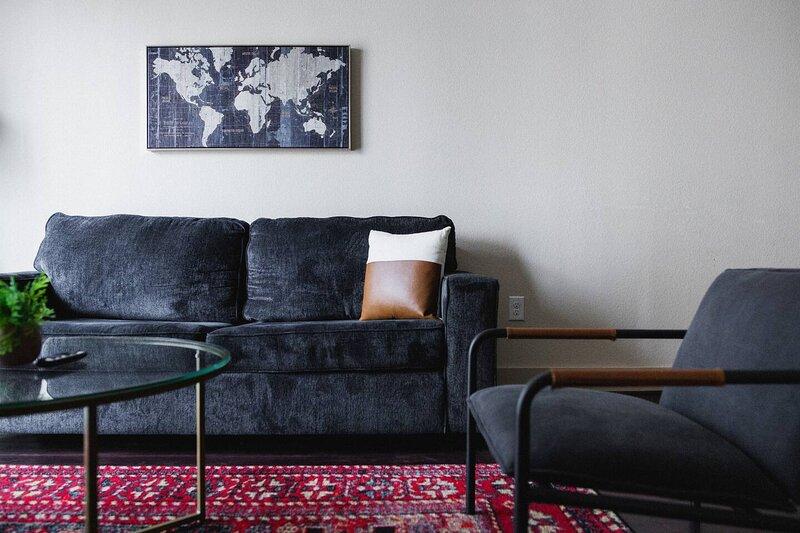 Dwella | Cozy 1BR Downtown Loft + Sofa Bed, holiday rental in Montgomery
