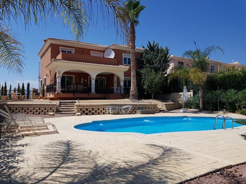 Villa Bonalba in Alicante near City Center and Alicante Airport, holiday rental in Ibi