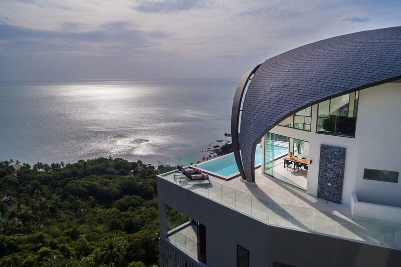 Luxury Sky Dream Villa with panoramic Sea View, vakantiewoning in Chaweng