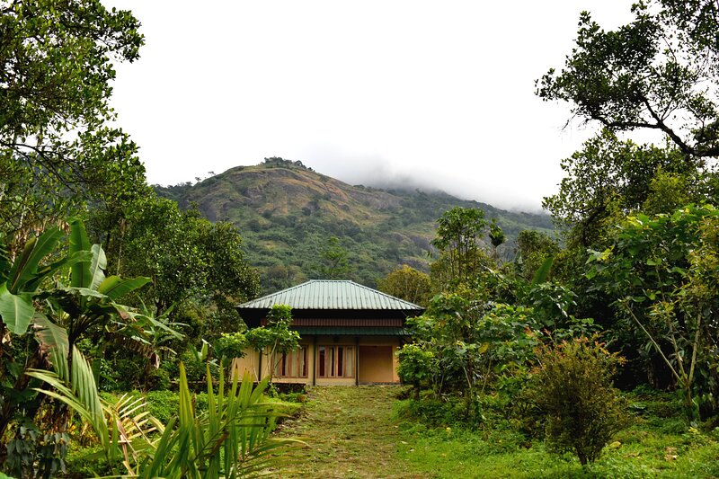 Solitude Munnar, Contemporary Mud House, holiday rental in Valparai