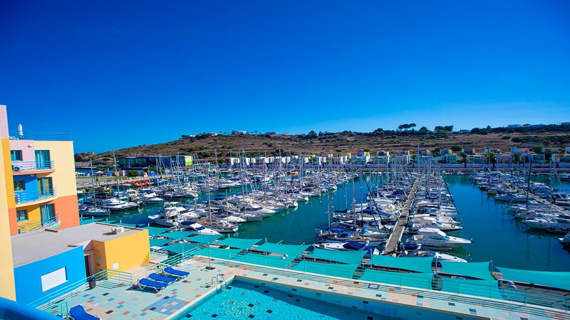Marina and Pool View