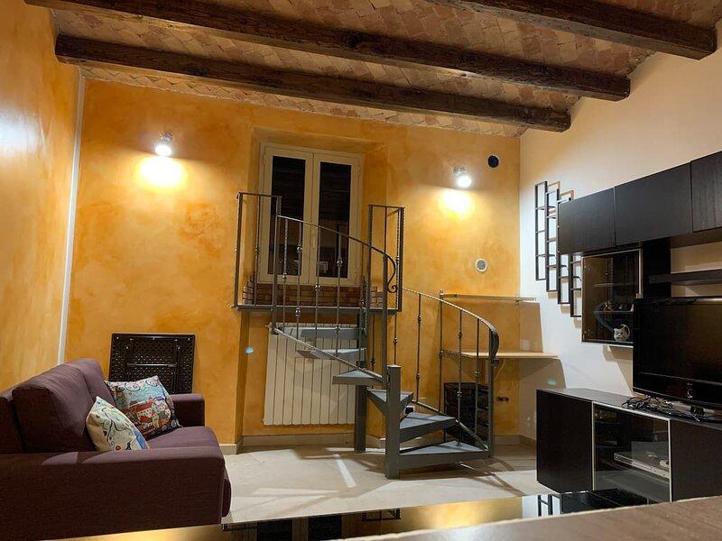 Appartamento Il TORRIONE, holiday rental in Vallecorsa