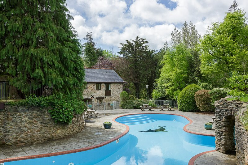 Beautiful stone country cottage with swimming pool, holiday rental in Ivybridge