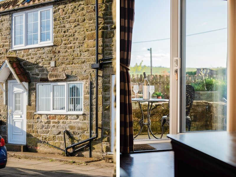 FAIRHAVEN COTTAGE, pet-friendly, WiFi, close to Whitby, Ugthorpe, Ref 929095, vakantiewoning in Lealholm