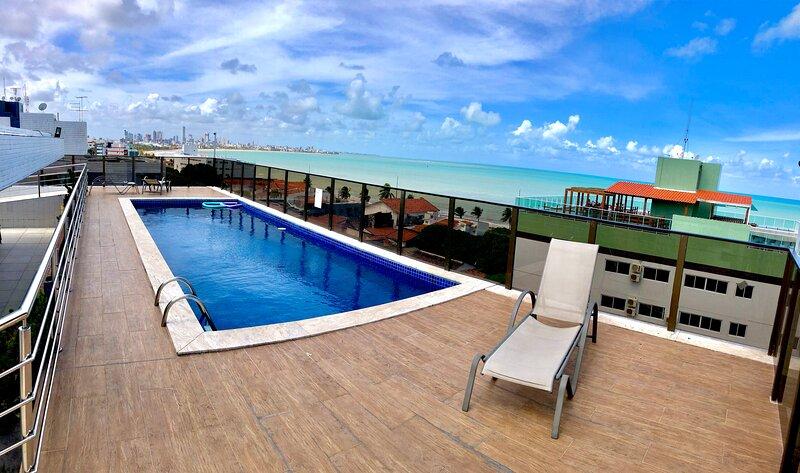 Apartamento em Praia de João Pessoa - próx ao mar, aluguéis de temporada em Paraíba