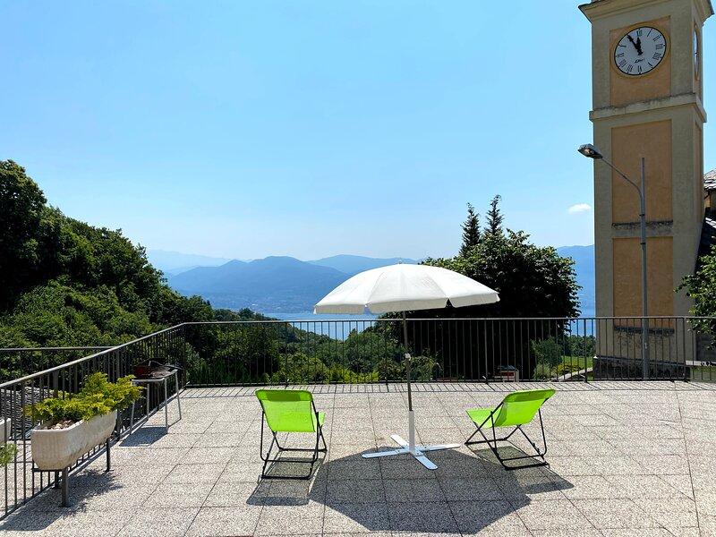 Casa al campanile terrace LeonardosHome, vacation rental in Province of Verbano-Cusio-Ossola