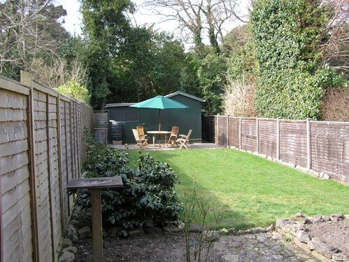 Rear Garden - Seaview - Wight Holiday Lettings