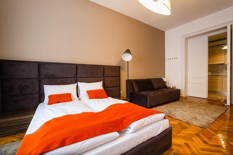 Eat IT cozy downtown apartment #2, casa vacanza a Baile Felix