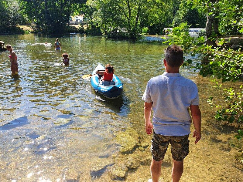 Canoeing at Ruffec