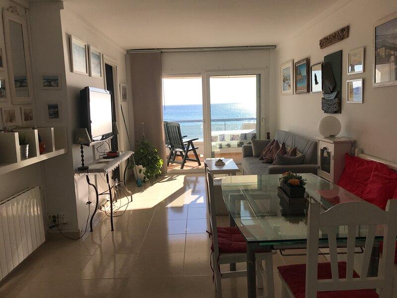 Ático duplex frente mar, alquiler de vacaciones en El Vendrell