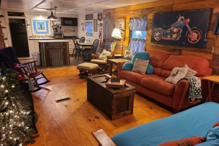 Want to get away from the City? Want to do some Hunting or Fishing? Perfect Geta, holiday rental in Tishomingo