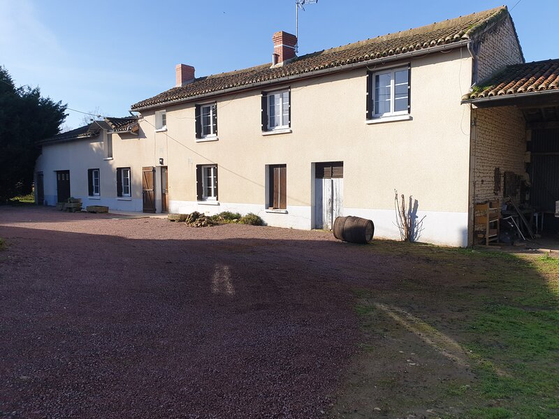 Nice house with terrace & Wifi, holiday rental in Les Trois-Moutiers