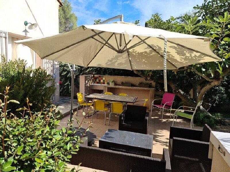 Hameau de la Nicolinière - Villa 'Les Figuiers', location de vacances à Cap Benat