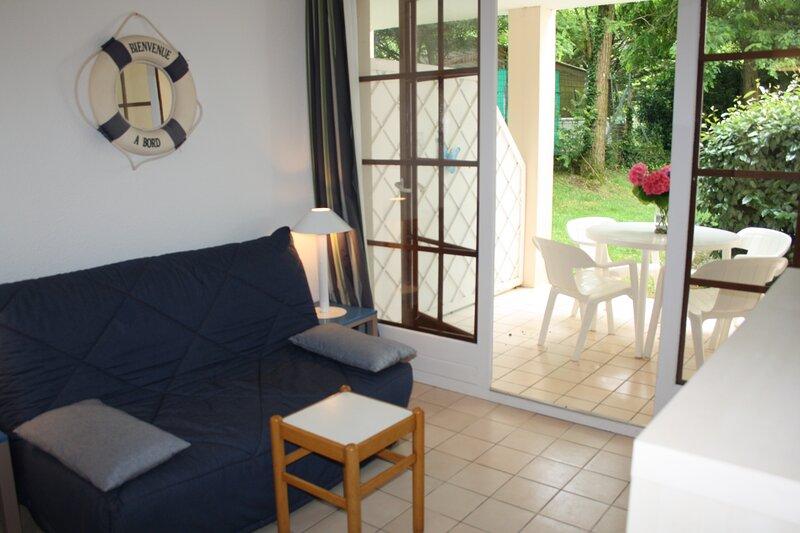 Studio 4 personnes idéalement situé, location de vacances à Bourgenay