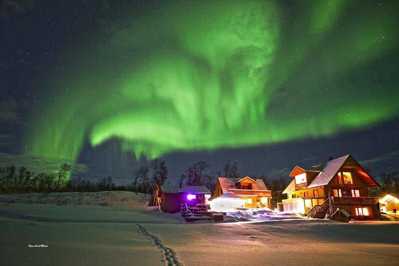 Laksjohka, pearl of natural beauty, location de vacances à Utsjoki
