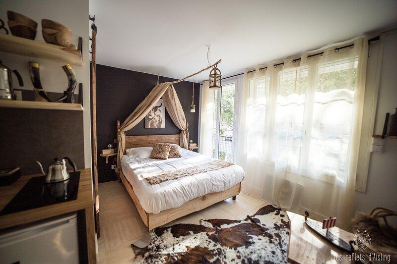 Magnifique Studio Viking & Design - Vue château, alquiler vacacional en Caen