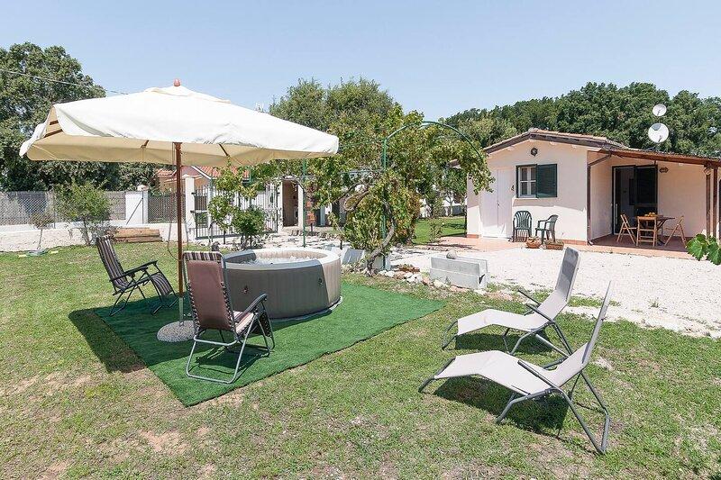 Casa vacanze LA CASETTA ideale per 2-6 persone a San Felice Circeo, vacation rental in Colonia Elena