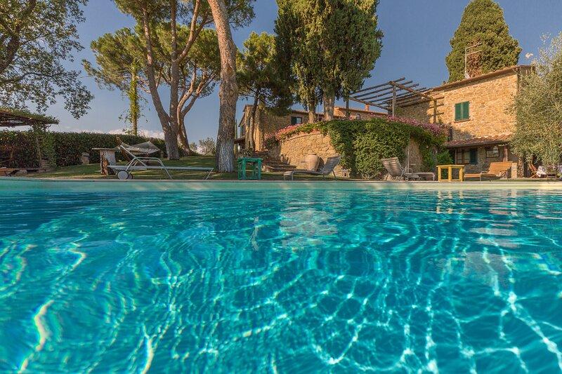Villa Girasole, vacation rental in Lucignano