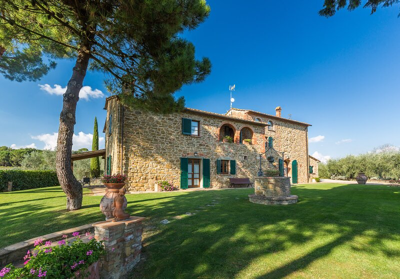 Villa Girasole, alquiler de vacaciones en Lucignano