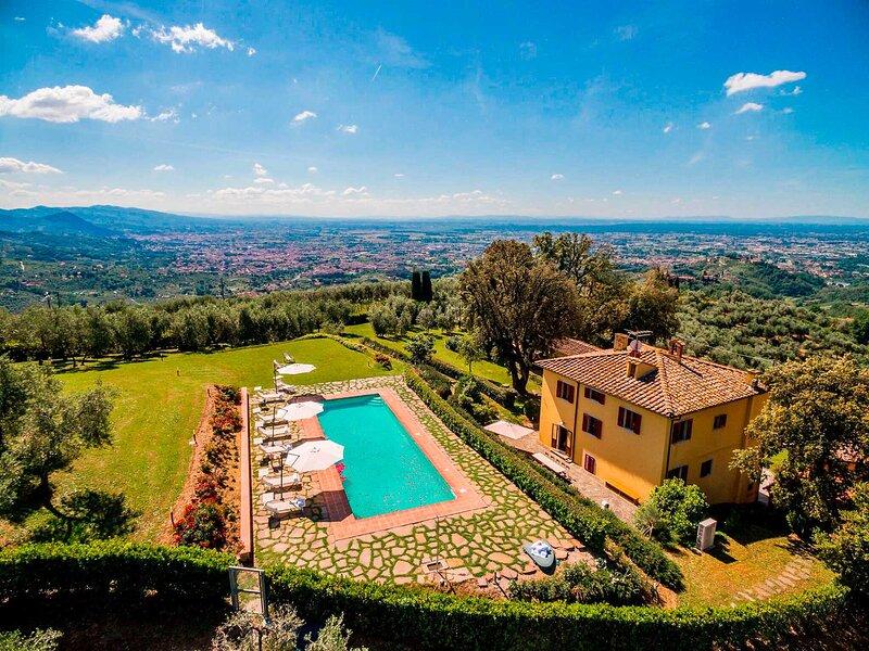 Villa Armonia Toscana, location de vacances à Buggiano
