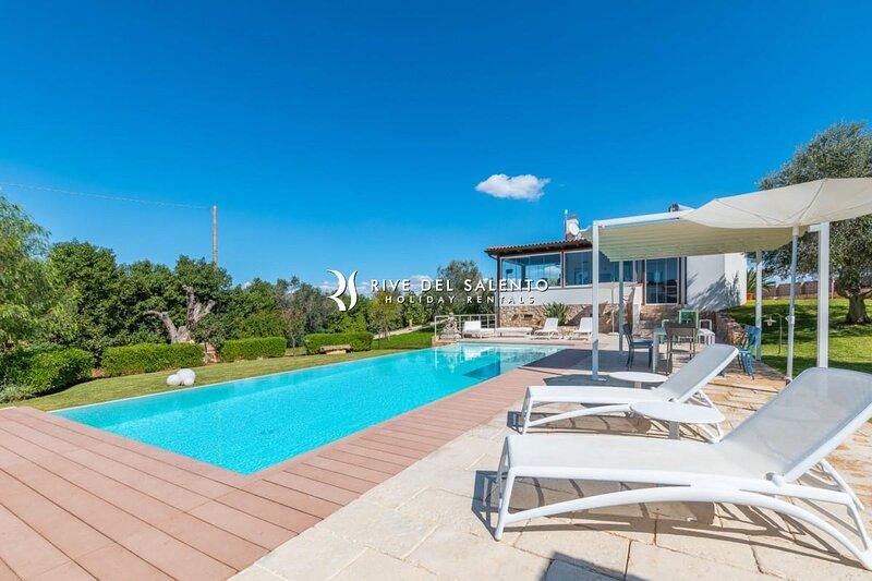 Villa Micasa, location de vacances à Collepasso