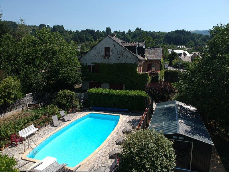 Ispaeva 14 pers  piscine - Gorges du Tarn, location de vacances à Mende
