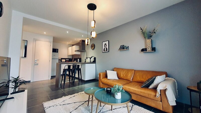 Le Continental Beau T2 Plein Centre Parking, holiday rental in Cran-Gevrier