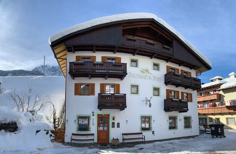 Bachlaufen Haus - Dolomites, vacation rental in Valle di Casies